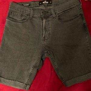 Hollister epic flex skinny denim shorts